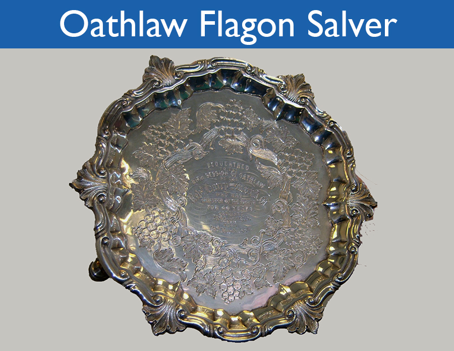 Oathlaw Flagon Salver